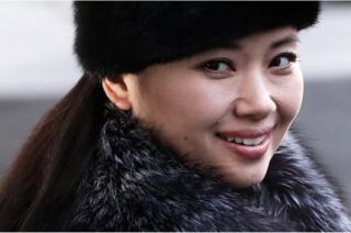 (캡션) 현송월 삼지연관현악단 단장. 김여정, 현송월, 리설주가 달라진 북한 여성상을 보여준다고 봐도 될까?
