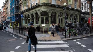 Pub on street corner