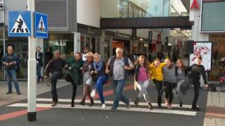 Dutch 'silly walks' crossing is a hit