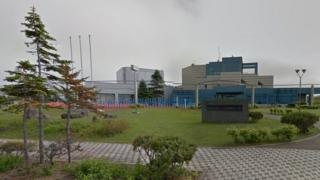 View of the Okhotsk Sea Ice Museum