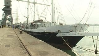 Jubilee Sailing Trust tall ship