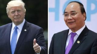 Thủ tướng Nguyễn Xuân Phúc là lãnh đạo đầu tiên tại Đông Nam Á gặp ông Trump từ khi ông nhậm Trump nhậm chức.