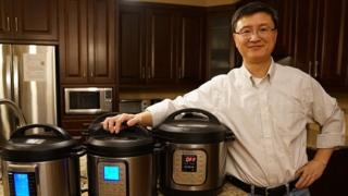 Instant Pot chief executive Robert Wang