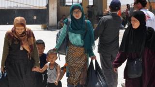 Beberapa WNI yang pernah berada di Raqqa