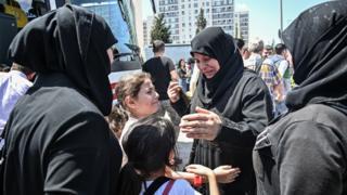 تركيا أعادت بعض اللاجئين إلى سوريا