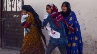 Warga sipil juga menjadi korban di dalam Turki sendiri.