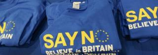 'Say No' to the EU party merchandise at UKIP conference