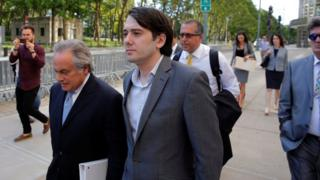 Martin Shkreli attends a hearing at US Federal Court in Brooklyn, New York, June 26, 2017