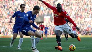 Lukaku, l'auteur du but égalisateur contre Chelsea est désormais à 13 réalisations.