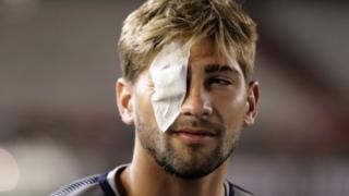 Jugador herido de Boca.
