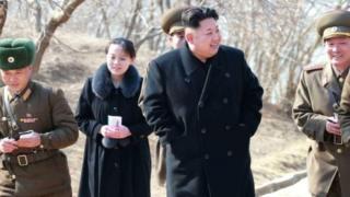 Kim Jong Un ve kızkardeşi Kim Yo Jong