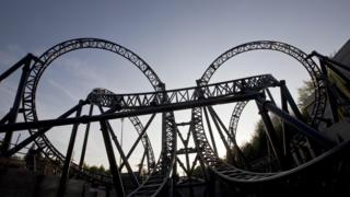The Smiler rollercoaster at Alton Towers