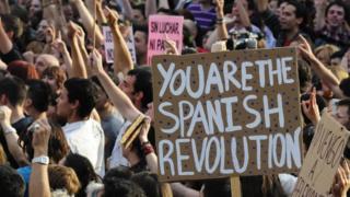 Protesti 2011. godine zbog ekonomske krize u Španiji i smanjivanja plata