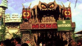 Atração Monga no Playcenter
