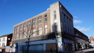 Former Burton store in Hope Street