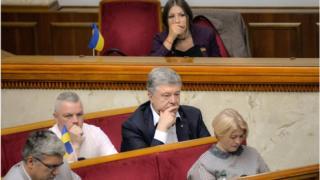Нині Петро Порошенко депутат парламенту
