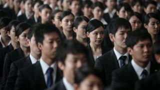 کارمندان در ژاپن
