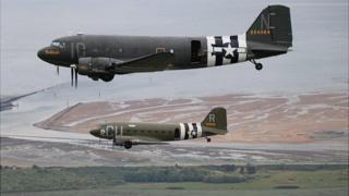 Dakota aeroplanes