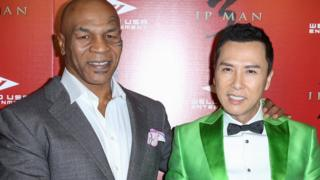 Mike Tyson and Donnie Yen