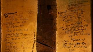 Signatures at the Swan, Lavenham