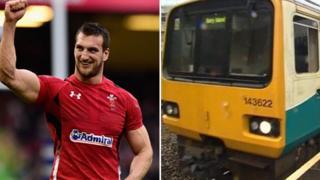 Sam Warburton a tren