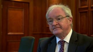Sir Declan Morgan is the Lord Chief Justice for Northern Ireland