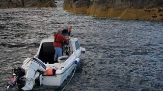 Rescued boat
