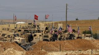قوات تدعمها الولايات المتحدة في شمال سوريا