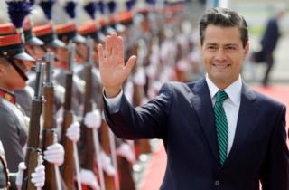 Peña Nieto rechazó las acusaciones de espionaje.