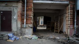 Арка, из-за перекрытия которой в Полтаве вспыхнули беспорядки