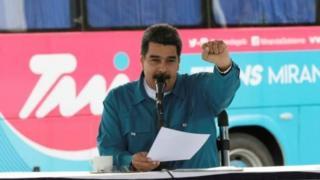 Rais Nicolas maduro wa Venezuela