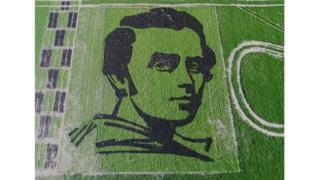 рисовий портрет Шевченка