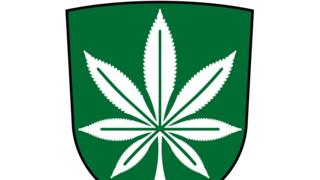 Cannabis coat of arms as voted for by the people of Kanepi