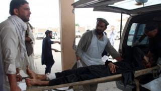 حمله بر مسجدی در خوست