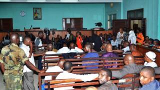 Une salle d'audience d'un tribunal de Conakry