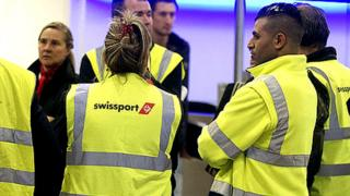 environment Swissport staff