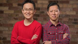Wattpad founders Allen Lau and Ivan Yuen