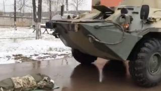 俄罗斯官员军训