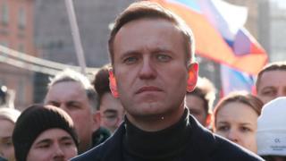 Alexei Navalny en una imagen de febrero de 2020
