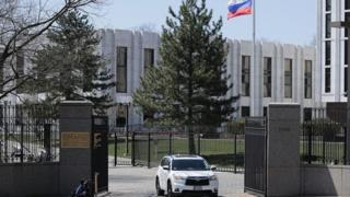 वाशिंगटनस्थित रुसी दूतावास