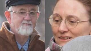 Danielle Perrett and Richard Barton-Wood