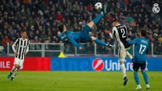 Ronaldo ń gbá bọ́ọ̀lù