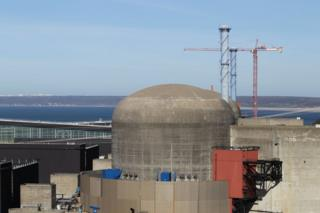 The Flamanville nuclear plant (file image)