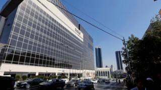 مقر البنك العربي في عمان