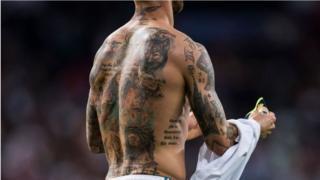 Footballer Tattoo quiz
