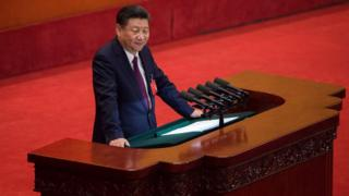 Xi Jinping da su discurso inaugural