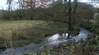 River near Llanwddyn in Powys
