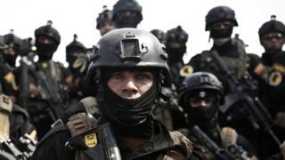 جندي من قوات مكافحة الإرهاب العراقية