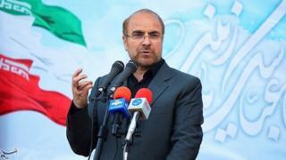 Handout photograph of Mohammad Baqer Qalibaf (9 May 2017)