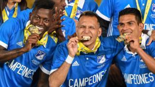 Millonarios campeón en Colombia